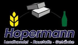 Hopermann - Landhandel - Baustoffe - Getränke Logo